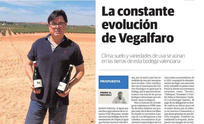 'La constante evolución de Vegalfaro', diario Las Provincias