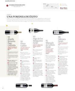 Pago de los Balagueses Syrah entre los mejores monovarietales de España